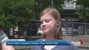 Tips to help youngsters capture their terrific trips