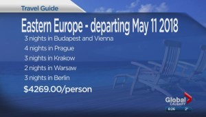 The Travel Lady: 18-night tour through eastern Europe