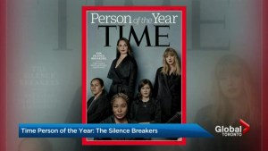 "Time Magazine has revealed the 2017 ""person of the year"""