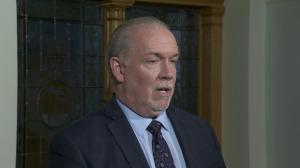 'It's not in anyone's interest to have dueling premiers': Horgan