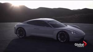 Porsche jumps into electric car race