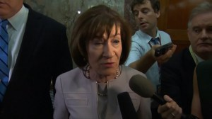 U.S. Republican senator says she'll reveal her choice on Kavanaugh confirmation soon
