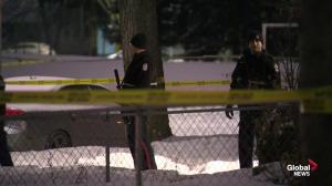 North Edmonton police investigation