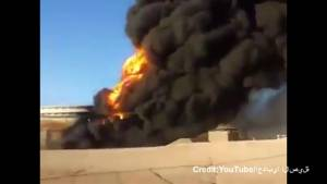 Oil tanks in Libya continue to burn after ISIS attacks
