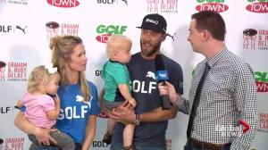 Graham DeLaet on how the foundation has supported charities