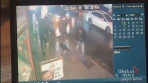 Video appears to show violent New Year's Day assault in downtown Toronto