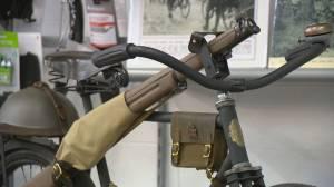 Sask. man uses century old WWI bike to teach history