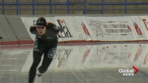 Speed skater Ben Donnelly's Olympic journey started with photo of Denny Morrison and pack of gum