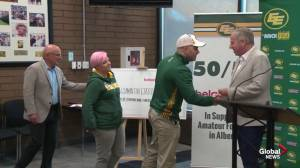 Edmonton Eskimos superfans launch 'Pay it forward with Football' to send deserving fans to home games
