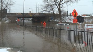 Broken water main floods Atwater Tunnel