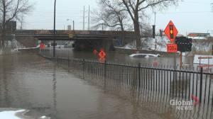 Broken water main floods Atwater Tunnel