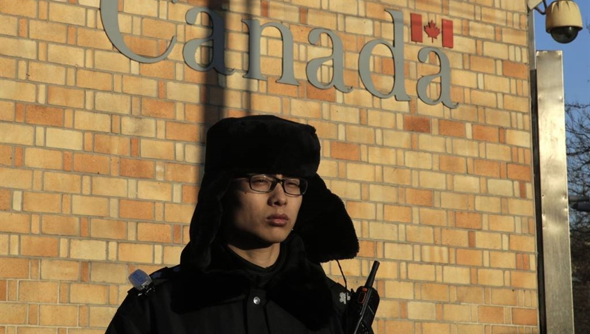 Third Canadian detained in China - report