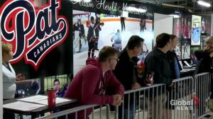 Regina Pat Canadians unveil Adam Herold Memorial Room