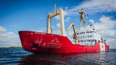 c9f695b70ac Icebreaker C3 cruising the Northwest Passage from Toronto to Victoria for  Canada 150
