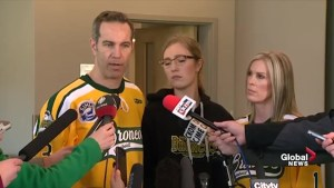 Humboldt Broncos families react to truck driver's 8-year prison sentence