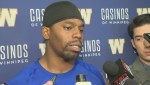 RAW: Bombers' Chris Randle following loss to Tiger-Cats