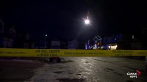 Shooting in Calgary's Panorama Hills community