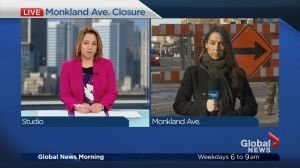 NDG's Monkland closure takes effect Monday morning