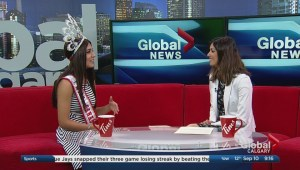 Calgarian wins two crowns in provincial and national pageants