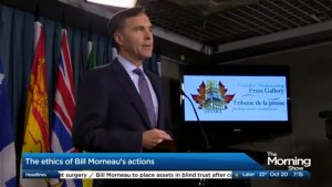The ethics of Bill Morneau's actions