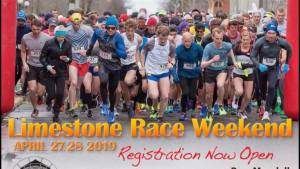 The new race directors for the Limestone Race weekend in Kingston visit the Morning Show
