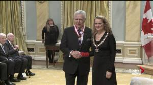 Alex Trebek receives the Order of Canada