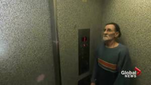 Fed up tenants in Vancouver's Chinatown protest broken elevator (02:14)