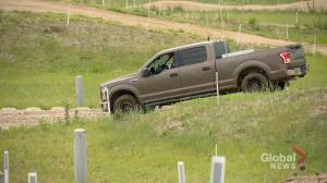RCMP 4×4 training track test drive