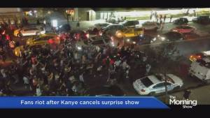 Kanye West causes chaos in New York