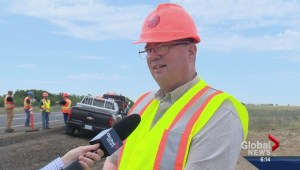 New lanes near completion on deadly Saskatchewan route
