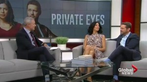 Jason Priestly & Cindy Sampson talk the new season of Private Eyes