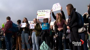 Calgary students stage walkout in support of gay-straight alliances