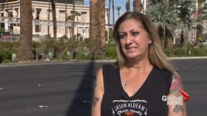 Survivor recalls rescuing Las Vegas shooting victim one year later
