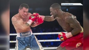 Dartmouth's Custio Clayton dominates to win WBO International welterweight title