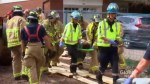 Floor collapses at home construction site in Oakville, buries worker in rubble