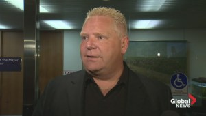 Doug Ford goes off on possible Lisi subpoena, expense accounts, and waterfront development costs
