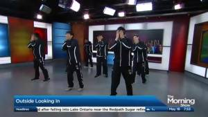 Indigenous group 'Outside Looking In' performs on The Morning Show