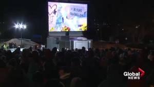 Vigil commemorates Quebec City mosque shooting