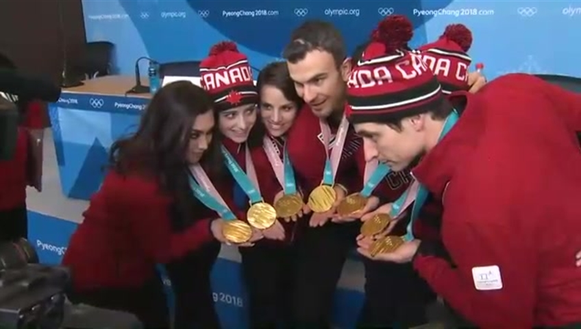 What athletes had to say about Adam Rippon's dazzling Olympic skate
