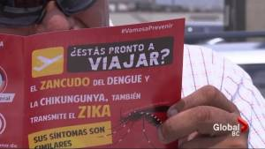 Reassuring words from Canada's top doctors about Zika virus threat