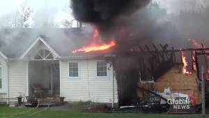 Fire rips through home in Cramahe Township