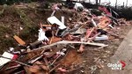 Video shows the extent of damage in Alabama following tornado
