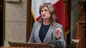 Rona Ambrose hails those who 'fought for women' in House of Commons speech