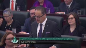 'Today in Alberta things are looking up': Joe Ceci