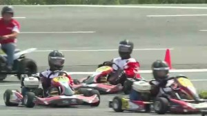 KartSTART program teaching kids driving skills