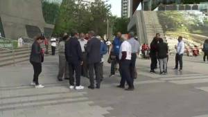 Surrey comes together to protest gang violence