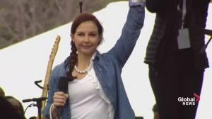 Actress Ashley Judd recites poem: I am a nasty woman
