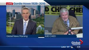 630 CHED's Bryan Hall shares memories of Gordie Howe