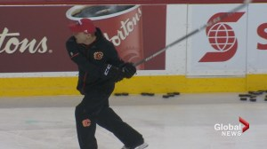 Calgary Flames head coach's angry, profanity-laced rant at practice