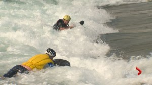 River boarders hit the waves in Calgary: 'It's extremely exhilarating'